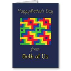 Mother's Day Card  - Patchwork Quilt: up to $3.50 - http://www.zazzle.com/mothers_day_card_patchwork_quilt-137289540853563368?rf=238041988035411422&tc=pintw