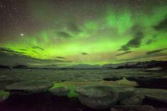 Ice and Northern Light by Joris Kiredjian on 500px.