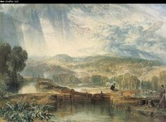 J.M.W. Turner More Park,near watford on the river Colne