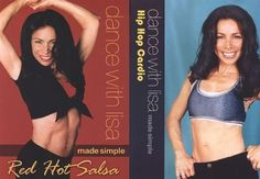 Dance with Lisa: Red Hot Salsa/Hip-Hop Cardio [2 Discs] [DVD]