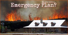 Every household should have a home emergency plan. Being prepared reduces risks. A household with a home emergency plan increases their odds for survival.
