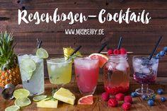 Muttertagsgeschenke: Gin-Cocktail-Party mit Rezepte für Regenbogen-Cocktails #cocktails #mothersday #gifts #drinks #cocktail #recipie #pineapple #gin #diy #delicious #tasty #yummy #drinking