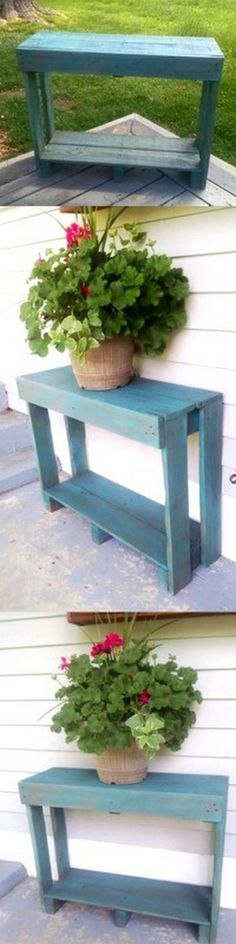 Very Beautiful Wooden Pallet Table
