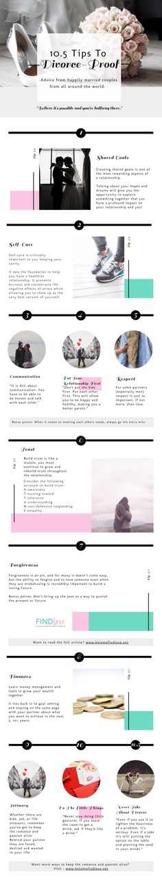 [Infographic] 10  Ways To Divorce Proof Your Marriage