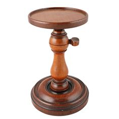 This fine antique treen turned mahogany wig stand is available to buy now online. Antique Vanity, Wig Stand, Womens Wigs, Décor Ideas, Small Rooms, Georgian, 19th Century, Powder, Objects