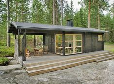 Container House - Cabin in Finland by SunHouse. No container. - Who Else Wants Simple Step-By-Step Plans To Design And Build A Container Home From Scratch?