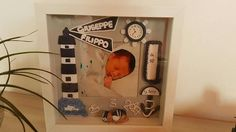 Quadretto  nascita personalizzato marinaio