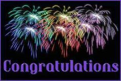 congratulations Photo: congratulations w/ fireworks. This Photo was uploaded by IRickmar Congratulations Quotes Achievement, Congratulations Pictures, Birthday Congratulations, Birthday Songs, Birthday Wishes, Happy Birthday, Do Better Quotes, Engineers Day, Done Quotes