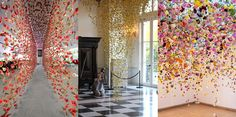 Art-Sheep Features: Rebecca Louise Law And Her Floral Installations | Art-Sheep