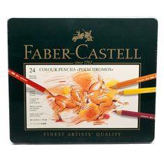 Peter's of Kensington | Faber-Castell - Polychromos Colour Pencil Set 24pce $39 + 5.50p