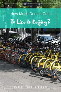 Beijing is a great place to live. But before you take the plunge of moving to China, you'll need to consider the cost of living in Beijing. Can you afford to move? Will you be able to rent a decent apartment? How much will you be able to socialise? Find out how much it costs to live in Beijing! Living in Beijing | Expats in Beijing | Move to China | Cost of Living | Budget Travel | Work Abroad | Asia | #beijing #expatlife #liveabroad #moveworktravellive #twotalltravellers #livingonabudget Vietnam Travel, Japan Travel, Ways To Travel, Travel Tips, Travel Destinations, Moving To China, China Travel Guide, Living In China, Maldives Travel