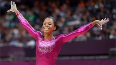 Gabby Douglas wins women's all-around gymnastics gold