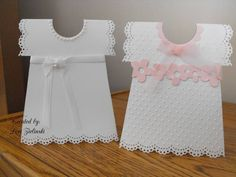 Dress christening cards by Lorianna3344 – Cards and Paper Crafts at Splitcoaststampers