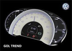 GOL TREND CAR DASHBOARD on Behance