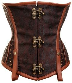 Steam Punk Corset - because you never know when you need pull off the pirate look.