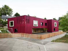 Double Pre-School Facility / Singer Baenziger Architects