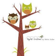Owl in Tree Clip Art - Bing images