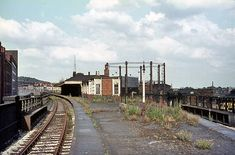 Disused Stations, Nottingham, High Level, Train Station, Railroad Tracks, Cottages, Abandoned, Backgrounds, Victoria