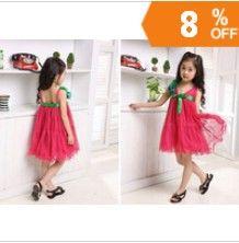 http://www.aliexpress.com/store/621900   Retail girls` summer formal children dress ball princess dress 2013 new hot girls 8--12 years Chiffon belt decoration fashion