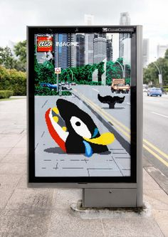 Lego Imagine Outdoor by Ogilvy, Malaysia | THEINSPIRATION.COM l THIS IS WH▲T INSPIRES US