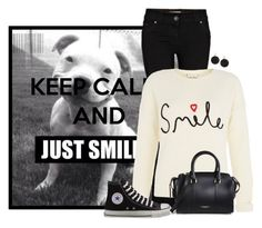 """""""Keep Calm And..."""" by sherbear1974 ❤ liked on Polyvore featuring River Island, Converse, Burberry and ABS by Allen Schwartz"""