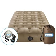 Aerobed Air Mattress Sofa Bed Air Mattress, Sofa Couch Bed, Sofa Pillows, Leather Futon, Best Platform Beds, Platform Bed With Storage, Ottoman Bed, Camping