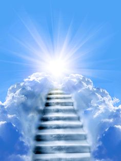 HD wallpaper: stairway to heaven wallpaper, the sky, the sun, clouds, rays Heaven Pictures, Jesus Pictures, Spiritual Images, Religious Images, Heaven Wallpaper, Hd Wallpaper, Desktop Wallpapers, Stairs To Heaven, Heaven Tattoos