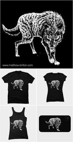 wolf inks (drawing 19/40)- http://matthew-britton.com
