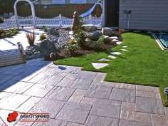 Gallery Paver Patterns, Front Deck, Sidewalk, Landscape, Gallery, Outdoor, Space, Ideas, Walkway