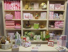 Miniature Easter shop