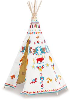 Indian Teepee by Nathalie Lété #8625 #magicforesttoys #vilac