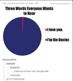 "Unless you're Rose- who gets both<---almost both<-----GO TO YOUR ROOM<---- I'm really glad that worked. Those would've been terrible last words <<< not as bad as ""Rose Tyler -"""
