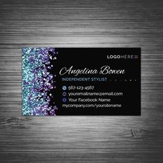 Your place to buy and sell all things handmade Black Business Card, Custom Business Cards, Custom Cards, Business Names, Paparazzi Jewelry Displays, Color Street Nails, Color Nails, Silver Makeup, Purple Wallpaper Iphone