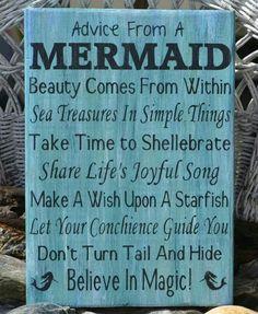 Advice from a Mermaid