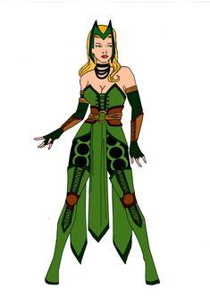 The Enchantress Redesign! by Comicbookguy54321.deviantart.com on @deviantART