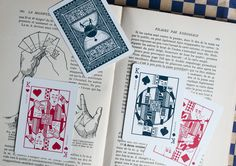 Tungstene Playing Cards by Jacques Denain, via Behance