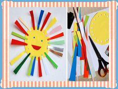 Fine motor skills by iCandy Sun Crafts, Summer Crafts, Crafts For Kids, Arts And Crafts, Paper Crafts, Spring Activities, Preschool Activities, Children Activities, Art Montessori