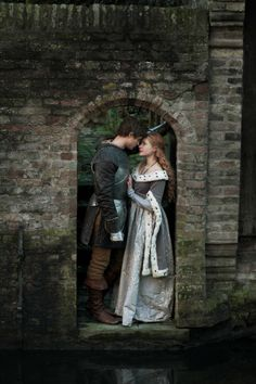 Still of Rebecca Ferguson and Max Irons in The White Queen