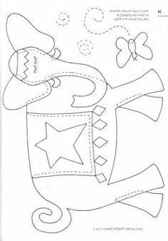 ARTE COM QUIANE - Paps,Moldes,E.V.A,Feltro,Costuras,Fofuchas 3D: Borboletas e Libélulas
