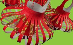 Learning how to create lanterns can help students work with form and color to create these awesome, decorative projects. Multicultural Crafts, Chinese Lanterns, Arts Ed, Chinese New Year, Student Work, Art For Kids, Craft Projects, Shapes, Canning