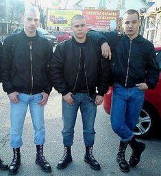 Mode Skinhead, Skinhead Men, Skinhead Boots, Skinhead Fashion, Skinhead Style, Rude Boy, Working Class, Cute Gay, Bomber Jackets