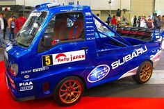 Subaru Wrc, Subaru Rally, Rally Car, Mini Trucks, Cool Trucks, Suzuki Carry, Kei Car, Daihatsu, Top Cars