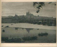 Tavik František Šimon, aquatint, etching