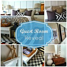 Charlotte Cottage: Guest Room Reveal with DIY Board & Batten