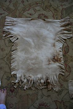 Native American dress but could make shirt for boys