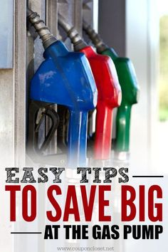 Easy tips on how to save on gas. How to save on gas while driving and money saving strategies to help you save big at the gas pump.
