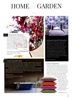 Drummonds have opened two new London showrooms designed in collaboration with Christopher Jenner - one in the thriving design district of Notting Hill, the other a new flagship showroom on the Kings Road drummonds-uk.com Kensington & Chelsea Magazine April 2014