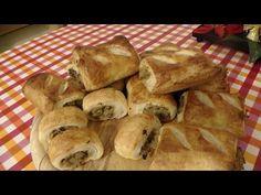Jak zrobić Paszteciki z ciasta francuskiego z kapustą i grzybami - YouTube Bread, Youtube, Recipes, Food, Cooking Recipes, Kochen, Food Food, Rezepte, Essen