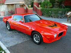 1973 Trans Am in Buccaneer Red