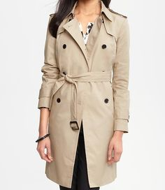 $198.00 Banana Republic Classic Trench (bought this tonight!!!!!)
